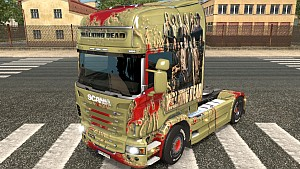 The Walking Dead Scania R skin