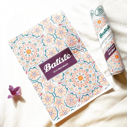 Batiste | New Marrakech Dry Shampoo Review + Giveaway!!