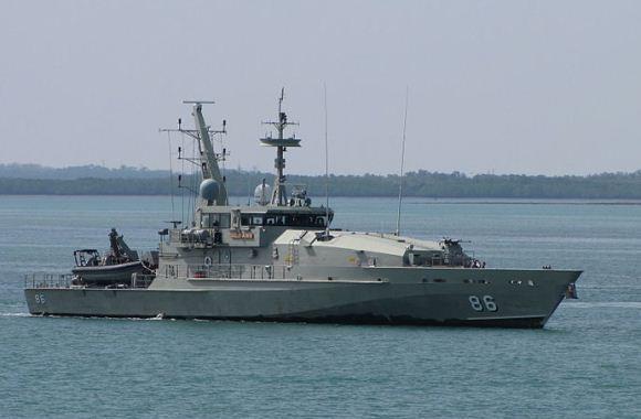 HMAS Albanny (Kelas Armidale)