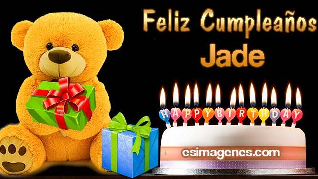 Feliz cumpleaños Jade