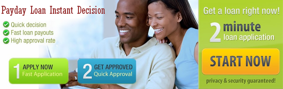 Payday Loan Instant Decision