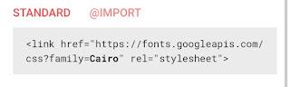 صفحة كود html الخاصة بالخط المختار