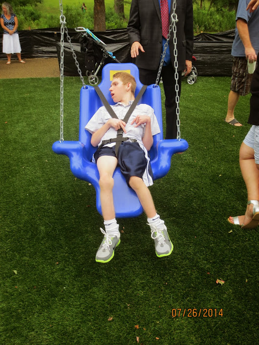 Image: Raising Daniel Hasselberger, a journey with Polymicrogyria: July 2014