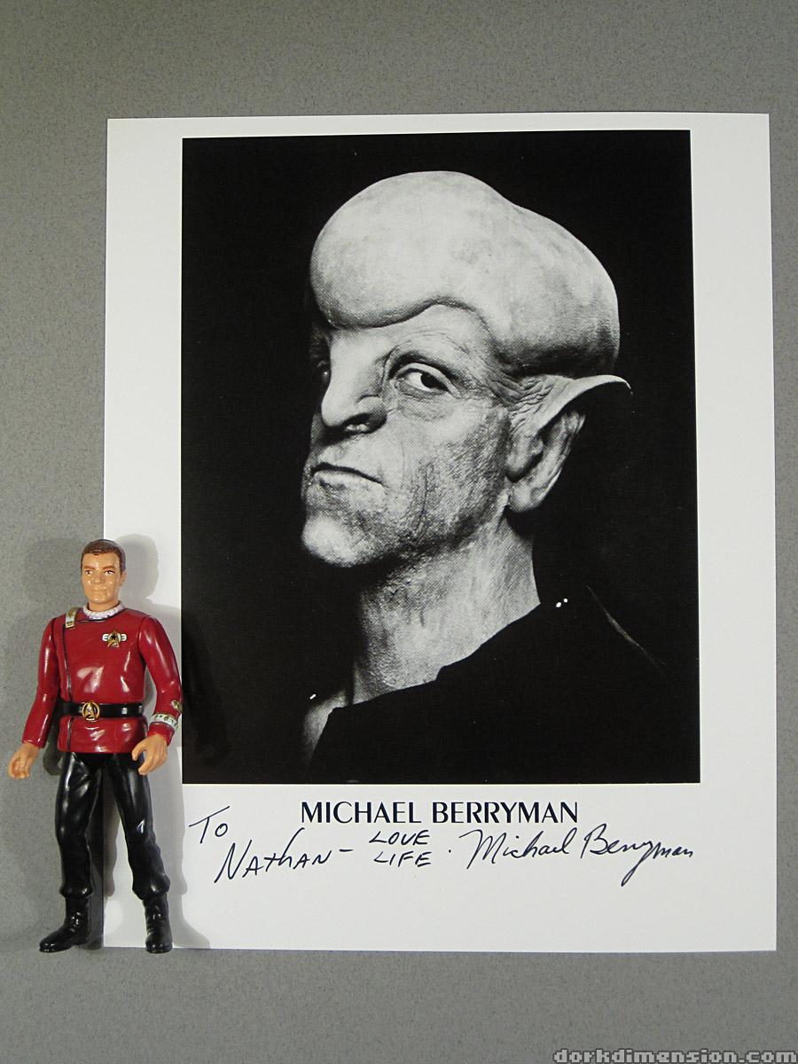 Dork Dimension: My Star Trek Original Series Autographs