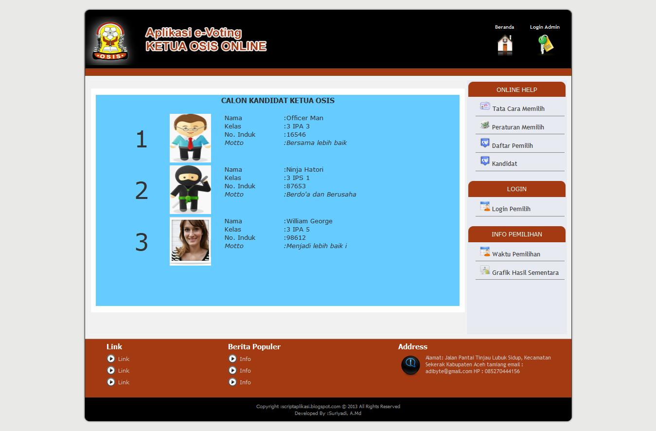Source Code Aplikasi | Free and Premium Source Code Aplikasi PHP