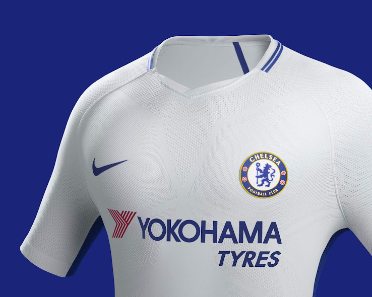 newest 921f9 e046e Nike Chelsea 17-18 Away Kit Released - Footy Headlines