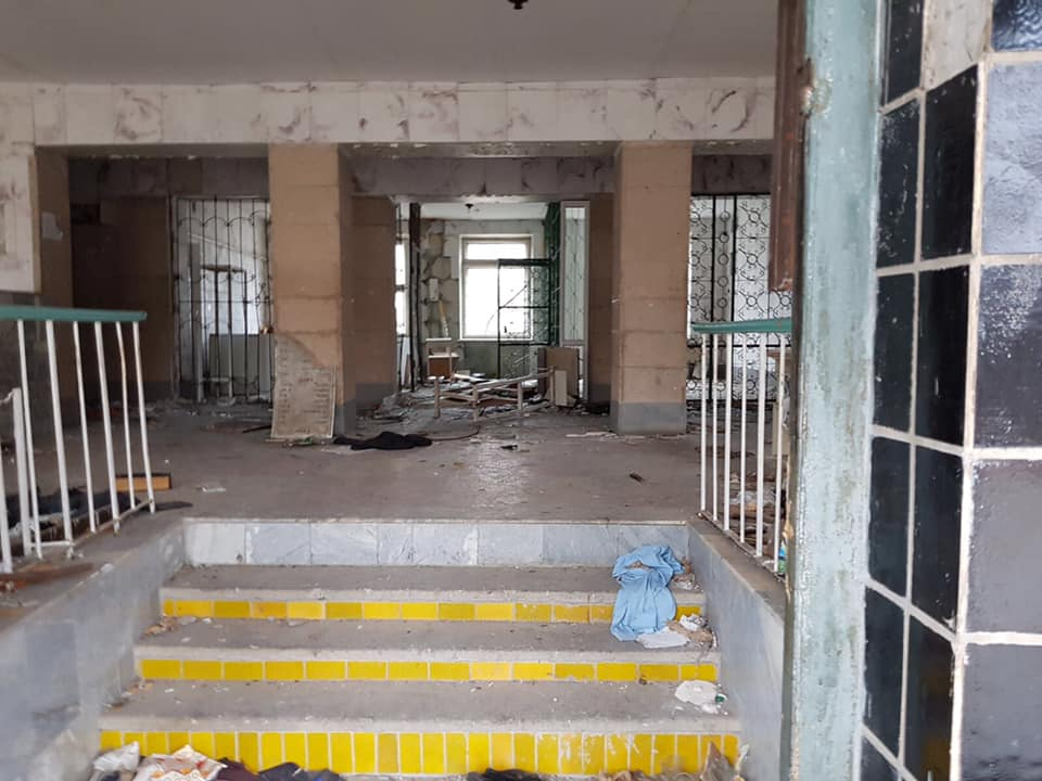 разруха в больнице в луганске