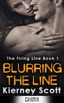 Blurring the Line by Kierney Scott book cover