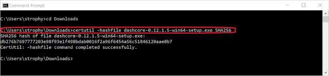 Верификация Dash Core