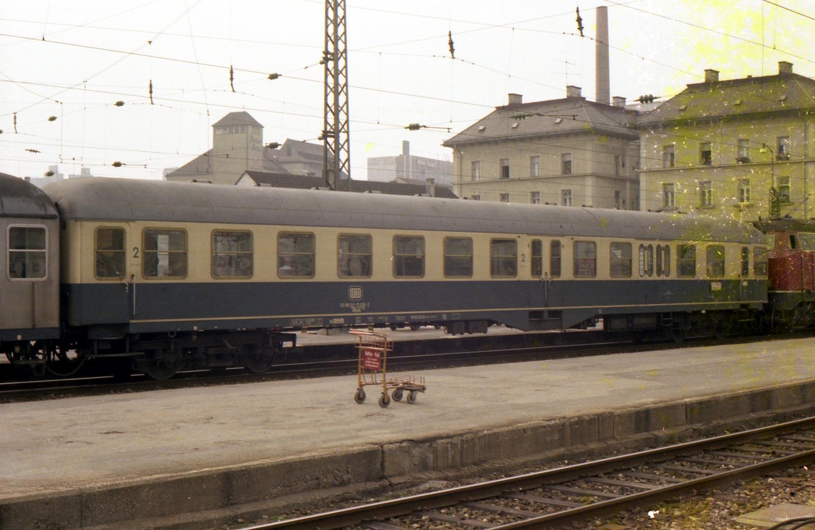 Die DB in Bildern 1966-1991: B(D)4ymf, B(D)yl (Eilzugsteuerwagen)