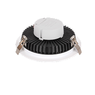 LED Premium Downlight Round ∅22.8x7.7CM Cut Out: ∅21CM 100-240V 120 Degree 3000K IP44 Epistar 2835 150 83RA 2550LM 0.9 85LM/W 30W White