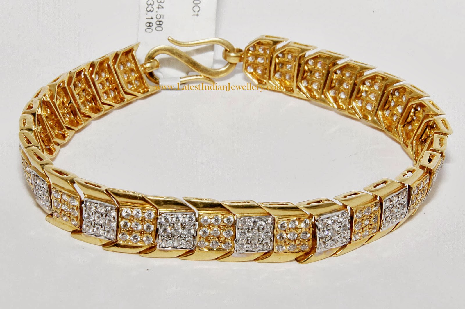 Gents Bracelet Designs In Gold