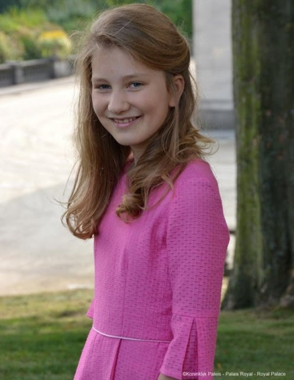Crown Princess Elisabeth Of Belgium Celebrates 14th Birthday