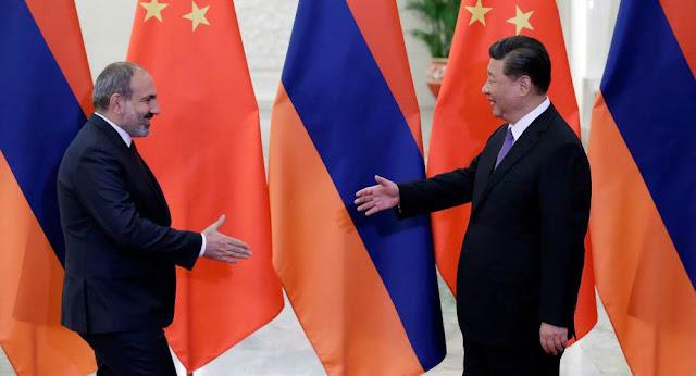 Pashinyan y Xi Jinping se encuentran en Beijing