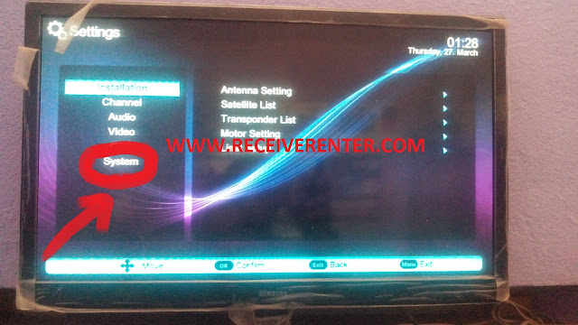 SUPER GOLDEN LAZER 2015 EXTREM HD RECEIVER BISS KEY OPTION