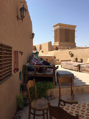 Our Australian guests visited one of the must-visited Unesco World heritage sites of Iran, magnificent Yazd.