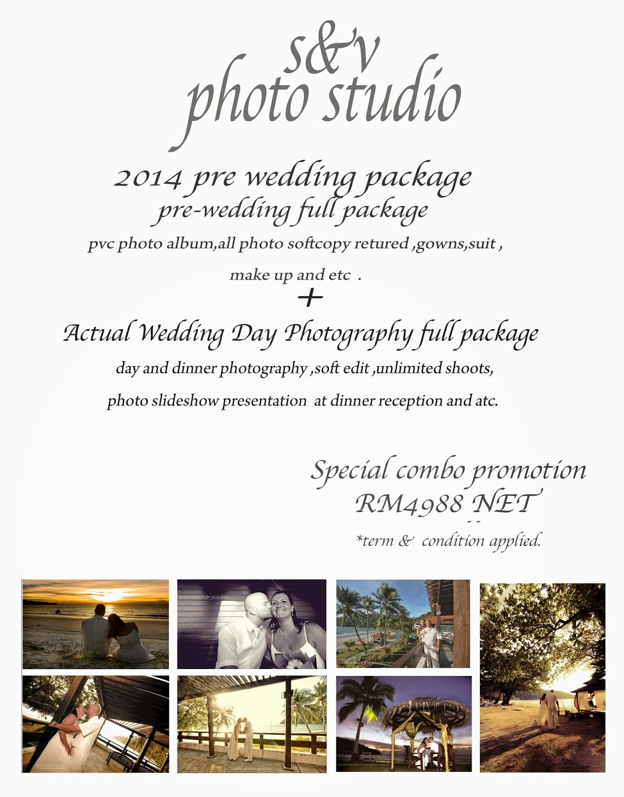 2017 Pre Wedding Package More Info Visit Https Www Facebook Snvphotostudio