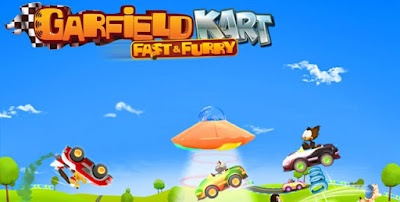 Download Game Android Gratis Garfield Kart Fast And Furry apk + obb
