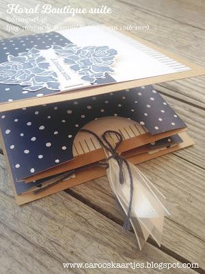 Dit project is gemaakt met producten van Stampin' Up! door Caro's Kaartjes. Stampin' Up! producten zijn bestelbaar via carooskaartjes@hotmail.nl Ook voor workshops! Kijk voor meer inspiratie op www.carooskaartjes.blogspot.com