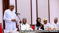Labaran siyasa Nigeria ::  Buhari Ya Shawarci 'Yan Siyasa Su Guji Cakuda Addini Da Siyasa
