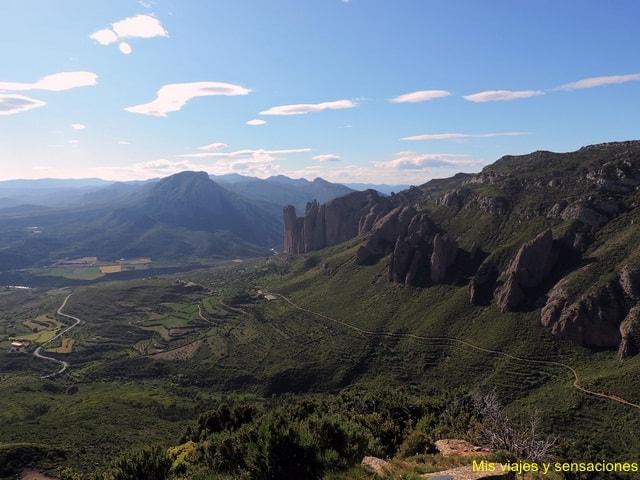 Mirador de los Buitres, Sarsamacuello, Huesca
