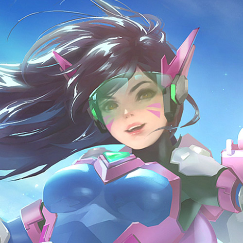 Overwatch D.VA Art Wallpaper Engine