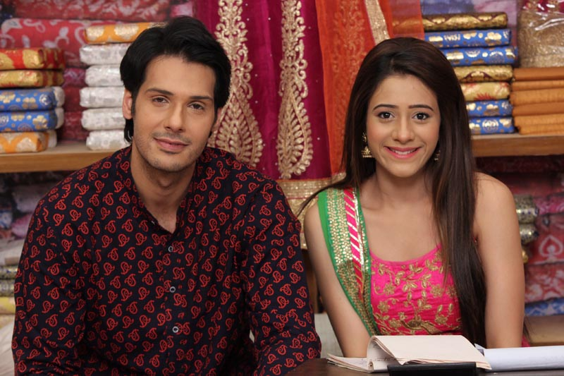Nikhil Khurana as Pancham and Hiba Nawab as Elaichi from show Jijaji Chhat Per Hain