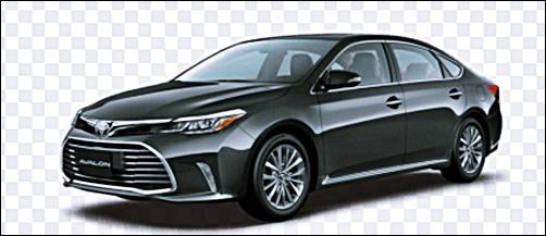 2018 Toyota Avalon mid-size sedan rumor