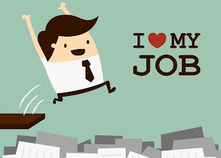 mencintai pekerjaan adalah awal kesuksesan di tempat bekerja