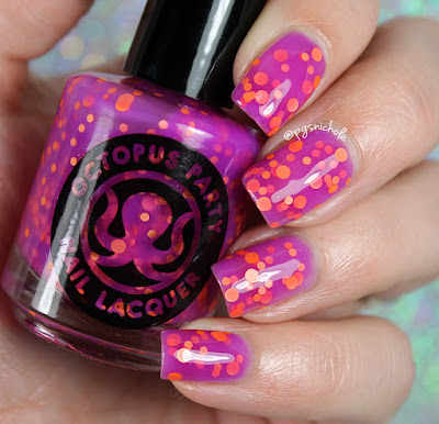 Octopus Party Nail Lacquer  Disco Tech | Summer 2016