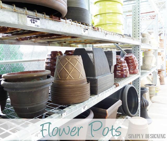 Flower Pots, DIY Flower Tower, Simply Designing, #digin #heartoutdoors #spring #sponsored