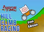 Adventure Time Hill Climb Racing Finn