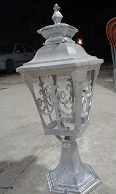 lampu pilar, lampu dinding, lampu antik, lampu mewah