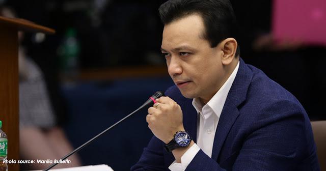 Duterte parang may diperensya sa pagiisip ayon kay senador ayon kay Trillanes.