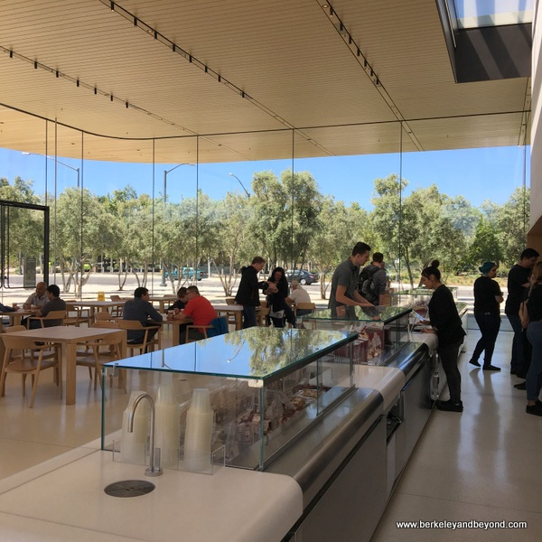 cafe at Apple Park Visitor Center in Cupertino, California