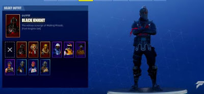 Fortnite, Black Knight Skin