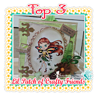 Top 3  Lil Patch of Crafty Friends challenge 17
