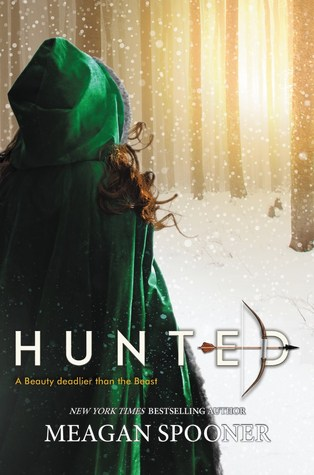Hunted by Megan Spooner book cover
