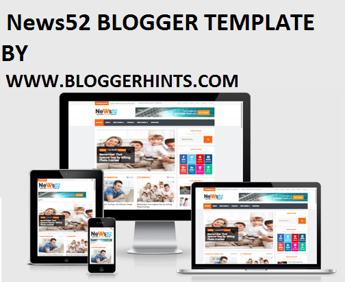 News52  FREE BLOGGER TEMPLATE