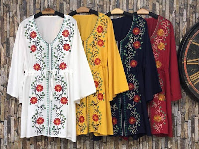 Dresses Fashion ร้านขายเสื้อผ้าออนไลน์ วันนี้มาอัพเดทเทรนด์แฟชั่น เสื้อผ้าขายส่งประตูน้ำ แบบจัดหนักจัดเต็มให้สาวๆได้เลือกช้อปกันอย่างอันลิมิต กับคอลเลคชั่นเสื้อผ้าใหม่ล่าสุด แฟชั่นสไตล์เกาหลี จัดมาให้เลือกช้อปมากมายหลายร้อยแบบ อย่าช้า! รีบช้อปกันได้เลย เสื้อผ้าขายส่งประตูน้ำ ขายส่งเสื้อผ้าราคาโรงงานรับรองสินค้าคุณภาพ งานสวย คุณภาพครบ จัดส่งรวดเร็ว พร้อมอัพเดทเทรนด์แฟชั่นมาใหม่ทุกวันทางไลน์ (Line official) แอดเลย Line id:@dresses Tel 095-6754581 เปิดทุกวัน ส่งทุกวัน 08.00-19.00 น.