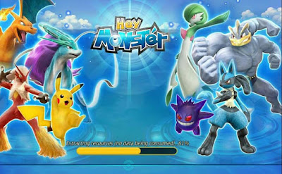 Hey Monster Apk + Data for Android Pokemon Game Download