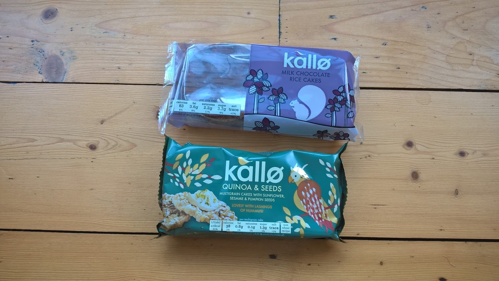 Kallo Multigrain & Kallo Milk Chocolate Rice Cakes - food subscription boxes - motherdistracted.co.uk