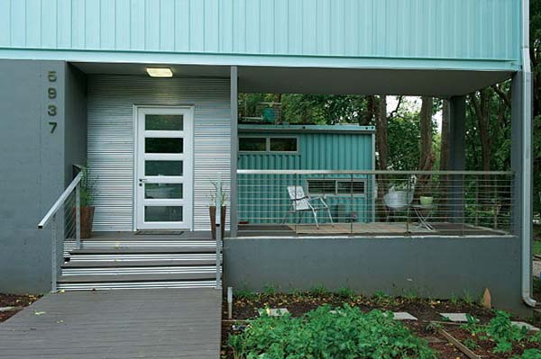 2000 sq ft Shipping Container House, Kansas City, Missouri 16
