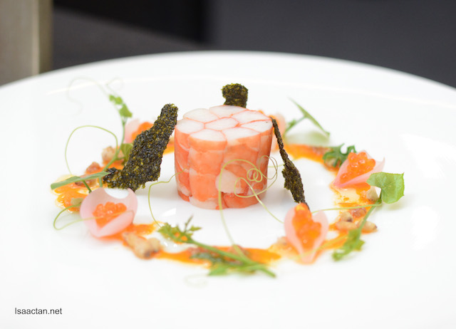 Tiger Prawns Torchon - Chef Philip Murray Dominic (2OX)