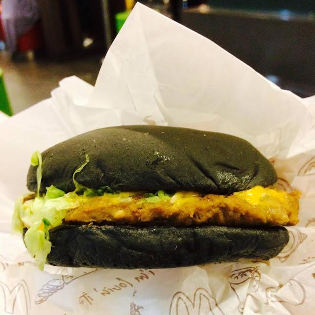 spicy korean burger, spicy korean burger mcdonalds, mcd, mc donalds malaysia, burger viral