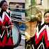 In Time of Recession!! Aisha Buhari Wears $2,600 (₦1,196,000 Naira) Cape To Brussels