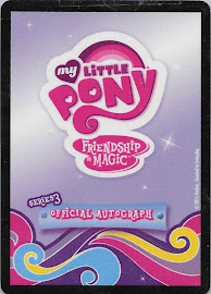 My Little Pony Nicole Oliver - Princess Celestia Series 3 Trading Card