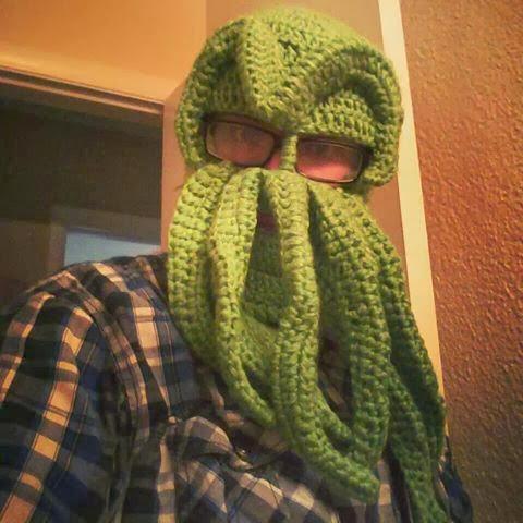 Quien sabe hacer este Gorro Pulpo de Crochet