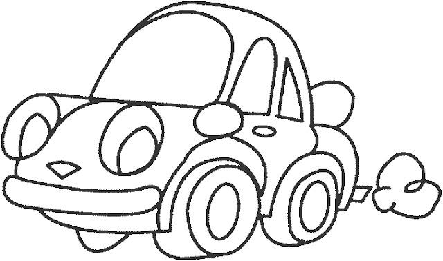 صورة سيارة للتلوين