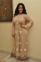 Mumaith Khan in Beig Skin Colored Anarkali Dress at Kalamandir Foundation 7th anniversary Celebrations ~  Actress Galleries 017.JPG